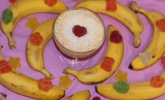 Банановый йогурт с хурмой рецепт