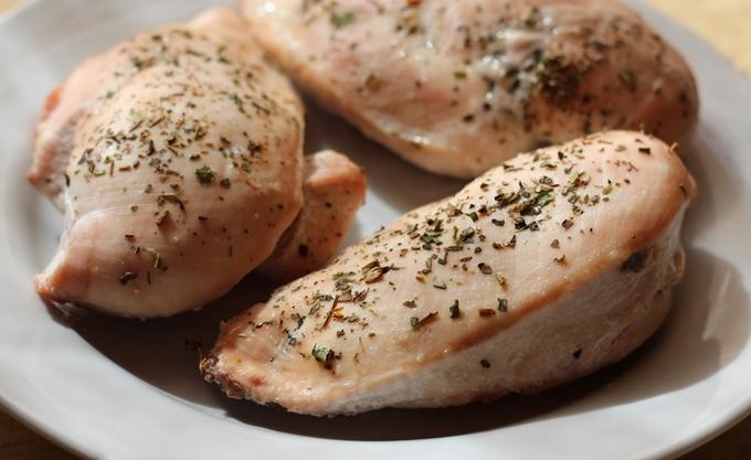 Куриное филе на соли